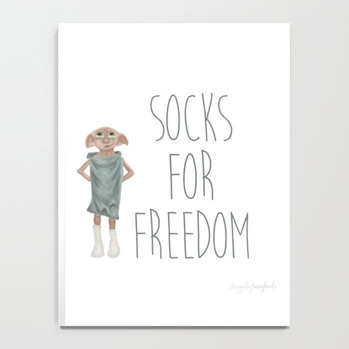 Socks for Freedom Notebook