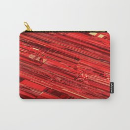 Speed Demon / Abstract 3D render of glass and metal Carry-All Pouch