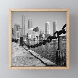 Boston Framed Mini Art Print