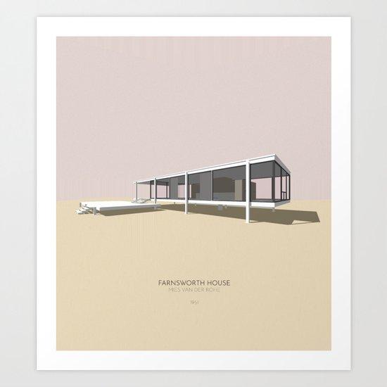 Farnsworth House Mies van der Rohe by botosa