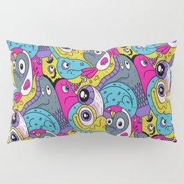 Idiot Bird Pattern Pillow Sham