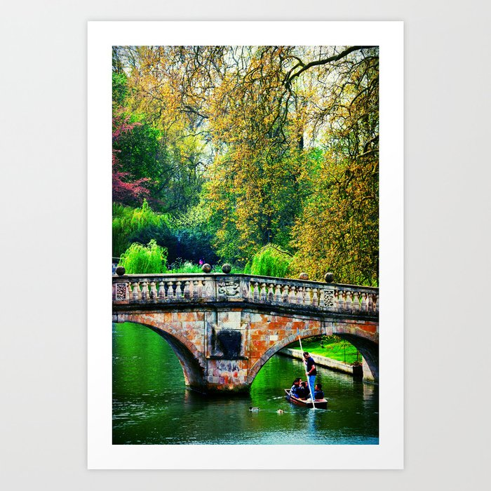 messing about on the river Art Print