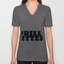 Drill Fitter & Caffeine Unisex V-Neck