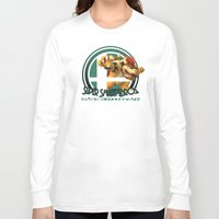 super smash bros Long Sleeve T-shirts featuring Bowser - Super Smash Bros. by Donkey Inferno