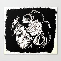 Dama De Los Muertos Canvas Print