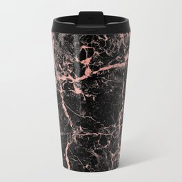 Marble Rose Gold - Someone Travel Mug