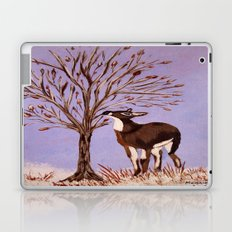Deer by the tree Laptop & iPad Skin