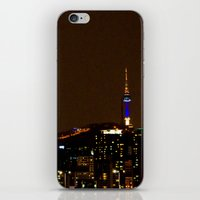 seoul iPhone & iPod Skins featuring Seoul Night by Zayda Barros