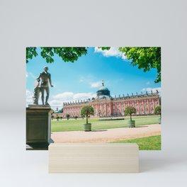 Sanssouci park Mini Art Print