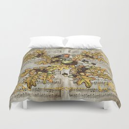 History of the autumn forest_4 Duvet Cover