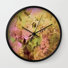 Spring Is In The Air Wall Clock
