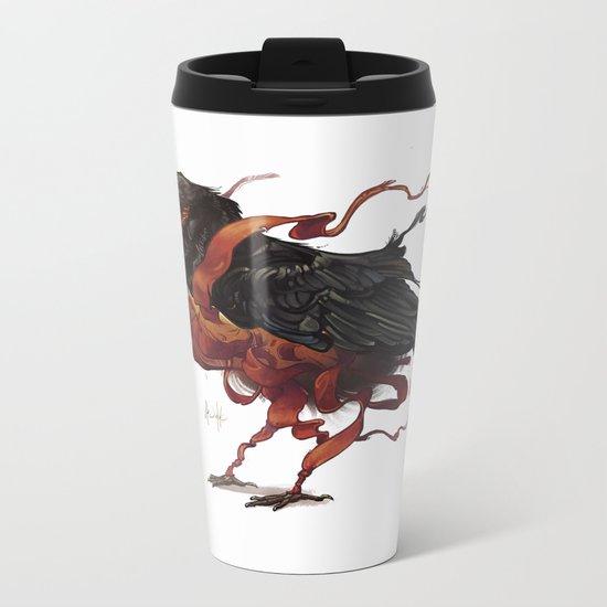 Tapestry Rook Metal Travel Mug