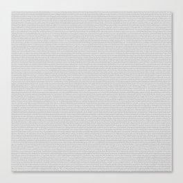 The Alchemist (full text) Canvas Print