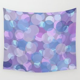Pastel Pink and Blue Balls Wall Tapestry