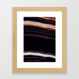in line Framed Art Print