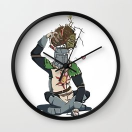 Solaire and maggot Wall Clock