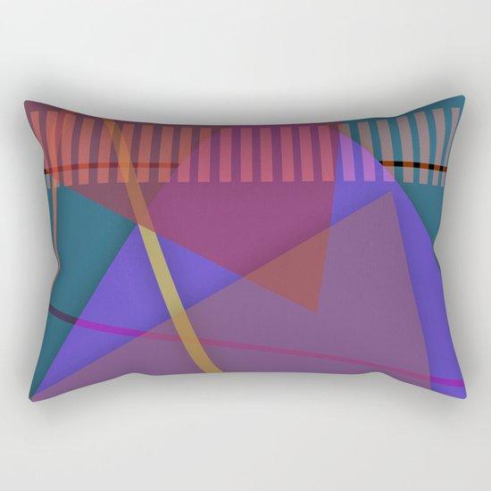 Abstract #421 Rectangular Pillow