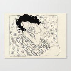 T-S.G. (Sleep Well) Canvas Print