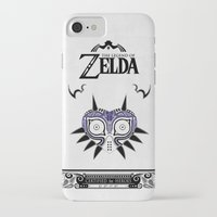 majora iPhone & iPod Cases featuring Zelda legend - Majora's mask by Art & Be