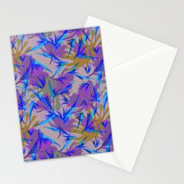Bird of Paradise and Cosmos Stationery Cards