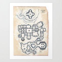 The Temple of Iron Art Print