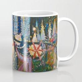Luna Park, Coney Island Amusement Park, New York City Skyline by Joseph Stella Coffee Mug