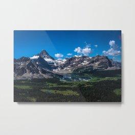 Mount Assiniboine - The Matterhorn of the Canadian Rockies Metal Print