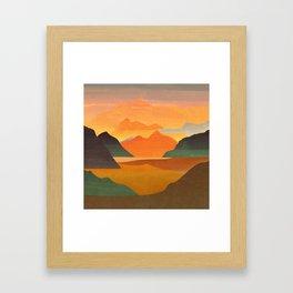 Autumn Landscape 1 Framed Art Print