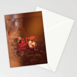 Teemo, the Satan (no text) Stationery Cards
