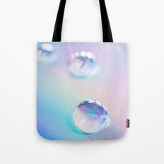 droplets*blue Tote Bag