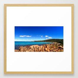 Point Picquet Framed Art Print