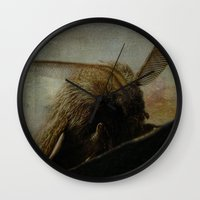 moth Wall Clocks featuring MOTH by mimulux