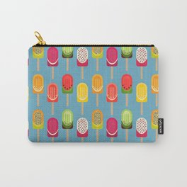 Fruit popsicles - blue version Carry-All Pouch
