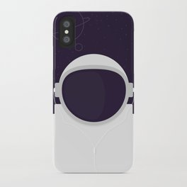 Astronaut is listening music iPhone Case