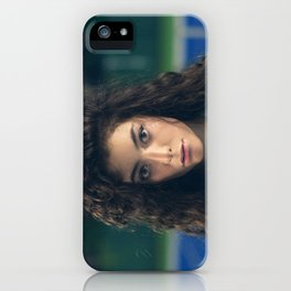 Lorde - Tennis Court Head Shot iPhone Case
