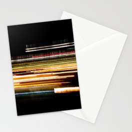 Fast Light on the Highway Stationery Cards