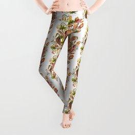 Ernst Haeckel Nepenthaceae Pitcher Plant Leggings