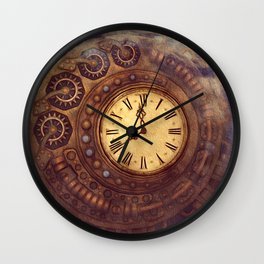 Time Passes Away Wall Clock