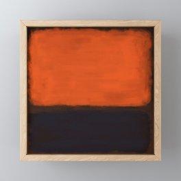 Rothko Inspired #18 Framed Mini Art Print