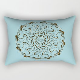 Ocean mandala Rectangular Pillow