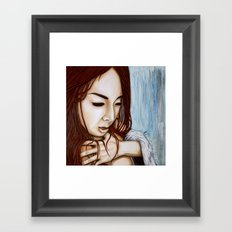 The fastest way there is to go slow Framed Art Print