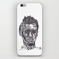 terminator iPhone & iPod Skins featuring Terminator by Americo Artspace