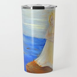 Invite your Angel | Angels are here Travel Mug
