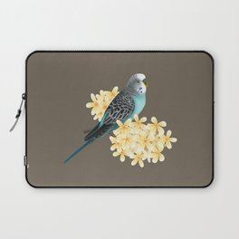 Blue Budgerigar Laptop Sleeve