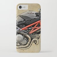 ducati iPhone & iPod Cases featuring Ducati Monster 796 by Larsson Stevensem