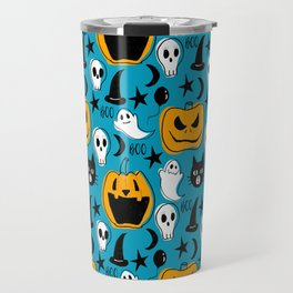 Halloween Creatures Travel Mug