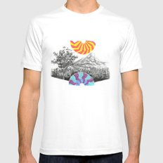 Landscape Mens Fitted Tee White MEDIUM