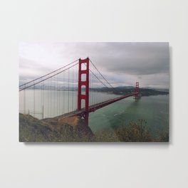 Morning at the Golden Gate Bridge Metal Print