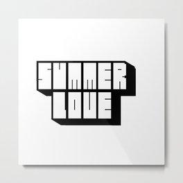 Summer Love Metal Print