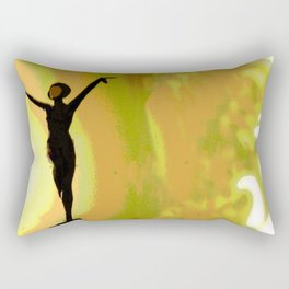 Deco Dance Rectangular Pillow